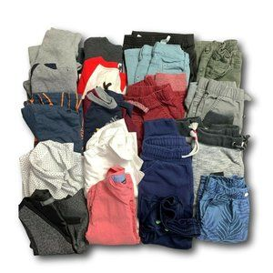 Boys Clothing Lot of 18 Pieces 3T Pants Shirts